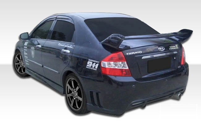 Kia Spectra 2007 2009 Edan Body Kit Kfx Parts